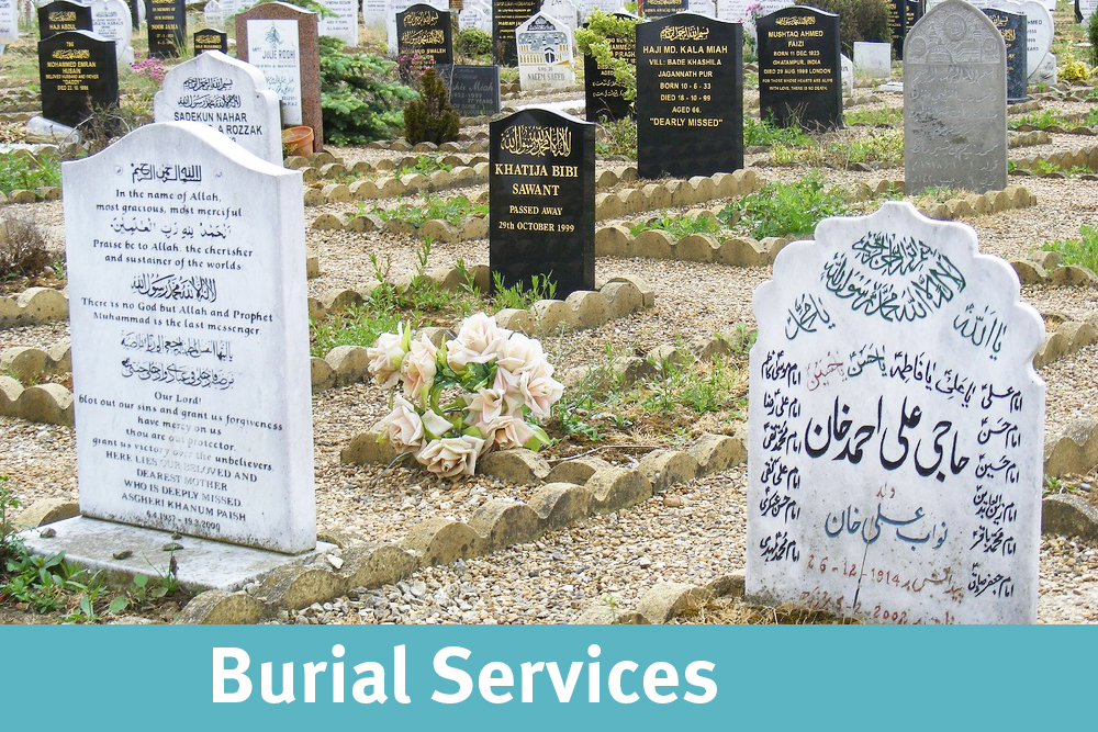 Your center is equipped with a body washing facility and our Imams also provide Janaza prayer services at the mosque. We outsource the body washing and burial to independent burial service organizations. <a href='#'>read more..</a>